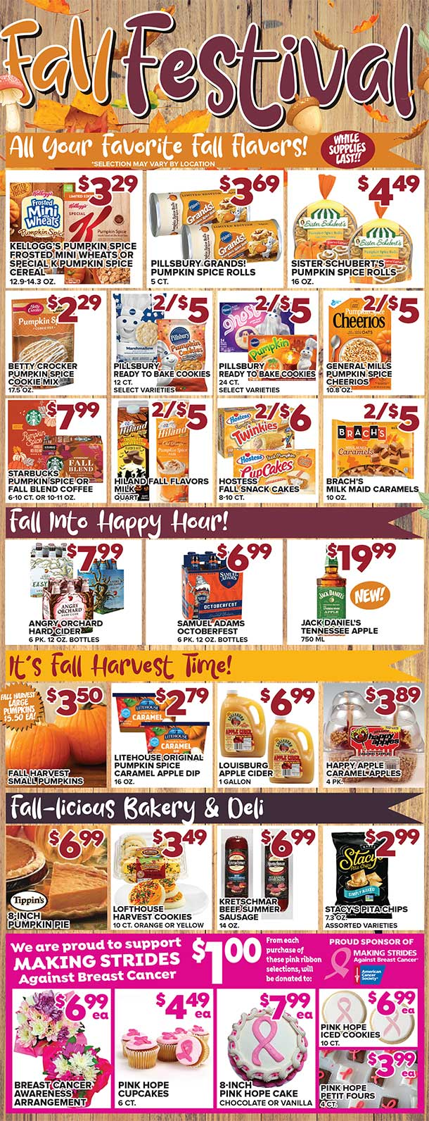 Fall Festival Sale - All Of Your Fall Favorites