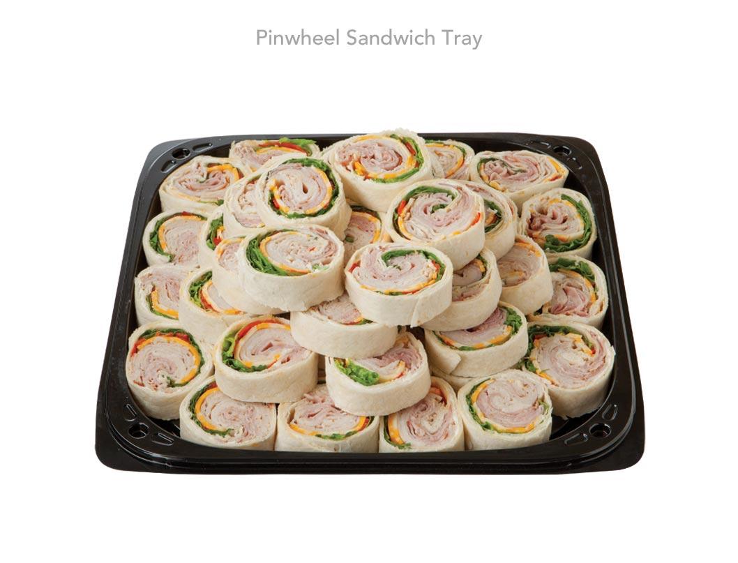View Larger Image Pinwheel Sandwich Tray